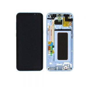 Genuine Samsung Galaxy S8 Plus G955 SuperAmoled Lcd Screen Digitizer Coral Blue