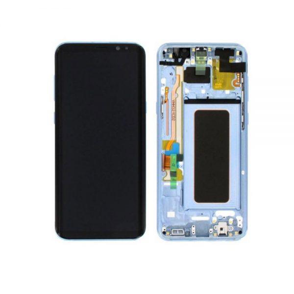 Genuine Samsung Galaxy S8 Plus G955 SuperAmoled Lcd Screen Digitizer Coral Blue