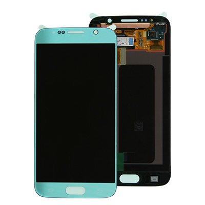 Genuine Samsung Galaxy S6 G920 SuperAmoled Lcd Screen Digitizer Topaz Blue