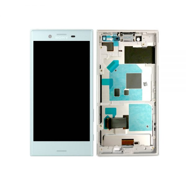 Genuine Sony Xperia X Compact Lcd Digitizer Blue