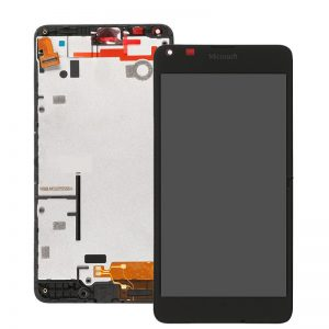 Genuine Microsoft Lumia 640 Lcd Sreen with Digitizer Touch Screen and Frame Black