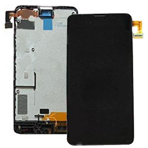 Genuine Nokia Lumia 630 635 Lcd Screen with Digitizer and Frame Black