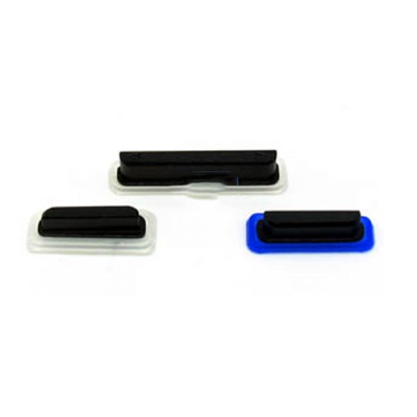 Sonyy Xperia TX LT29i Side Button Set Volume Button Power Button Camera Button Black