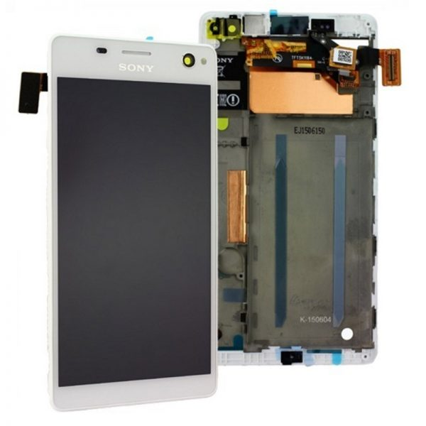 Sony Xperia C4 E5303 Lcd Screen Digitizer White