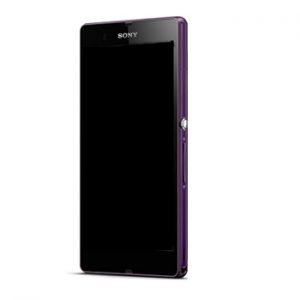 Genuine Sony Xperia Z L36H Lcd Screen With Digitizer and Frame Purple