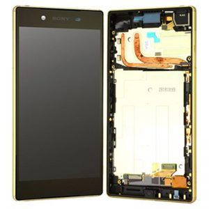 Genuine Sony Xperia Z5 Premium Dual E6883 Lcd with Digitizer and Frame Gold
