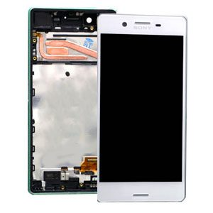 Genuine Sony Xperia X Lcd Screen with Digitizer and Frame White