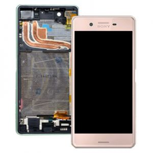 Sony Xperia X Performance Lcd Screen with Digitizer and Frame - Rose