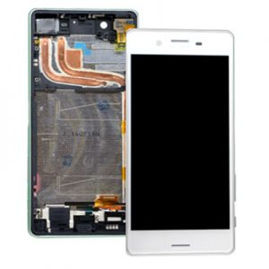 Genuine Sony Xperia X Performance Lcd Screen Digitizer and Frame White