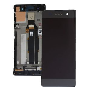 Sony Xperia XA F3111 Lcd Screen with Digitizer and Frame Black