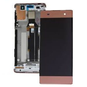 Genuine Sony Xperia XA Lcd Screen with Digitizer and Frame Rose Gold