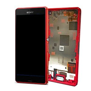 Sony Xperia Z3 Compact Z3 Mini D5803 D5833 Complete Lcd Screen with Digitizer and Frame Orange