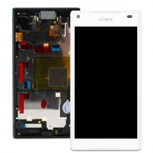 Sony Xperia Z5 Compact E5803 Lcd with Digitizer and Frame White