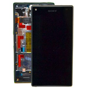 Genuine Sony Xperia Z5 Compact Lcd with Digitizer and Frame Black