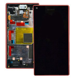 Genuine Sony Xperia Z5 Compact Lcd with Digitizer and Frame Pink