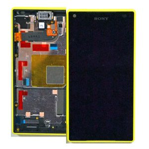 Genuine Sony Xperia Z5 Compact Lcd with Digitizer & Frame Yellow