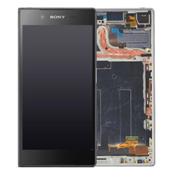 Sony Xperia Z5 E6653 Lcd with Daigitizer Frame Black