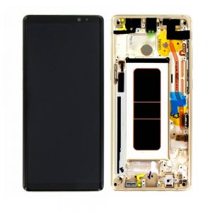 Genuine Samsung Galaxy Note8 Lcd Digitizer Gold