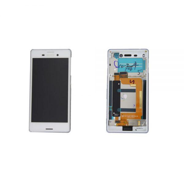 Genuine Sony Xperia M4 Aqua Dual Lcd Module White