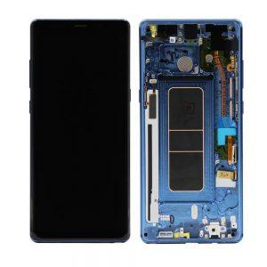 Genuine Samsung Galaxy Note8 Lcd Digitizer Blue