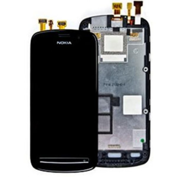 GENUINE NOKIA LUMIA 808 Lcd and Digitizer Touch Screen Part no. 00801Z4