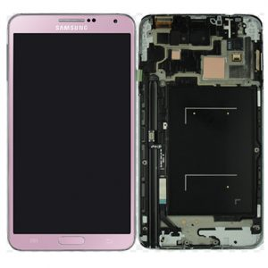 Genuine Samsung Galaxy Note3 LTE N9005 Complete SuperAmoled Screen Digitizer Pink