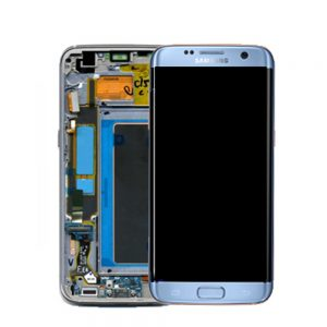 Genuine Samsung Galaxy S7 Edge SMG935 SuperAmoled Lcd Screen Digitizer Blue
