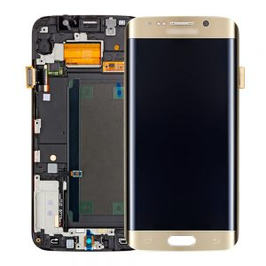 Genuine Samsung Galaxy S6 Edge+ Plus G928F SuperAmoled Screen with Digitizer Gold