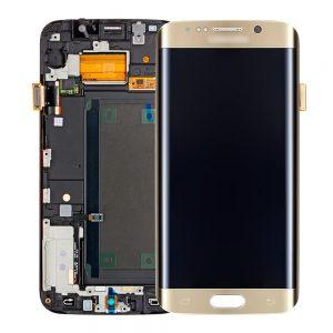 Genuine Samsung Galaxy S6 Edge+ Plus G928F SuperAmoled Screen with Digitizer Gold