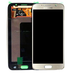 Genuine Samsung Galaxy S6 SMG920F SuperAmoled Lcd Screen Digitizer Gold