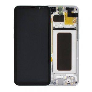 Genuine Samsung Galaxy S8+ Plus SMG950F SuperAmoled Lcd Screen Digitizer Orchid Grey