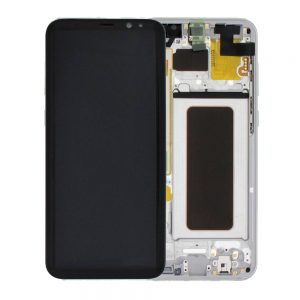 Genuine Samsung Galaxy S8 Plus G955 SuperAmoled Lcd Screen Digitizer Arctic Silver
