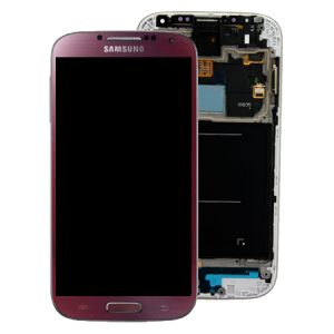 Genuine Samsung Galaxy S4 LTE PLUS i9506 SuperAmoled Screen Digitizer Red