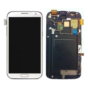 Genuine Samsung Galaxy Note2 LTE GT-N7105 Complete SuperAMOLED Lcd Screen Digitizer White