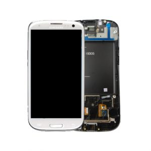 Genuine Samsung Galaxy S3 LTE I9305 Complete SuperAmoled Screen Digitizer White Fully Refurbished