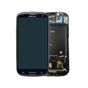 Genuine Samsung Galaxy S3 LTE I9305 Complete SuperAmoled Screen Digitizer Black Fully Refurbished