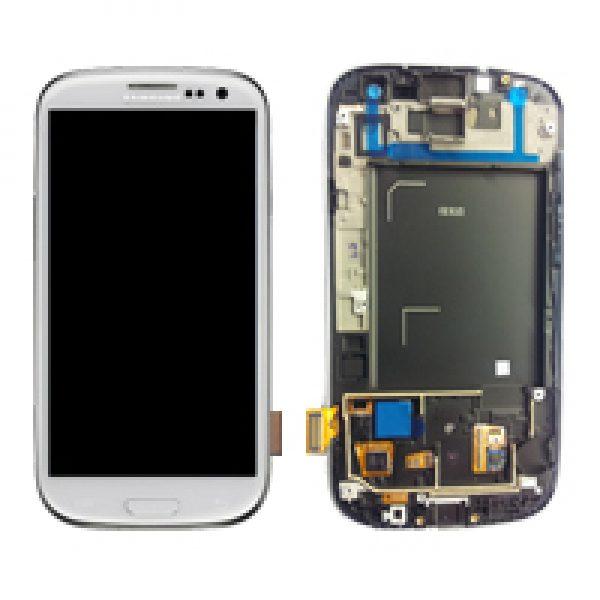 Genuine Samsung Galaxy S3 i9300 SuperAmoled Lcd Screen Digitizer Marble White