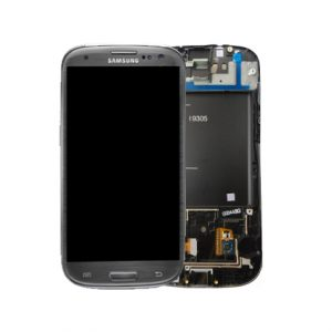 Genuine Samsung Galaxy S3 LTE I9305 Complete SuperAmoled Screen Digitizer Titanium Grey