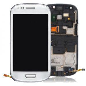 Genuine Samsung Galaxy S3 Mini i8190 Complete Lcd Screen Digitizer White