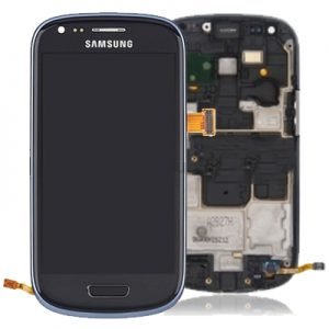 Genuine Samsung Galaxy S3 Mini i8190 Complete SuperAmoled Screen Digitizer Titanium Grey