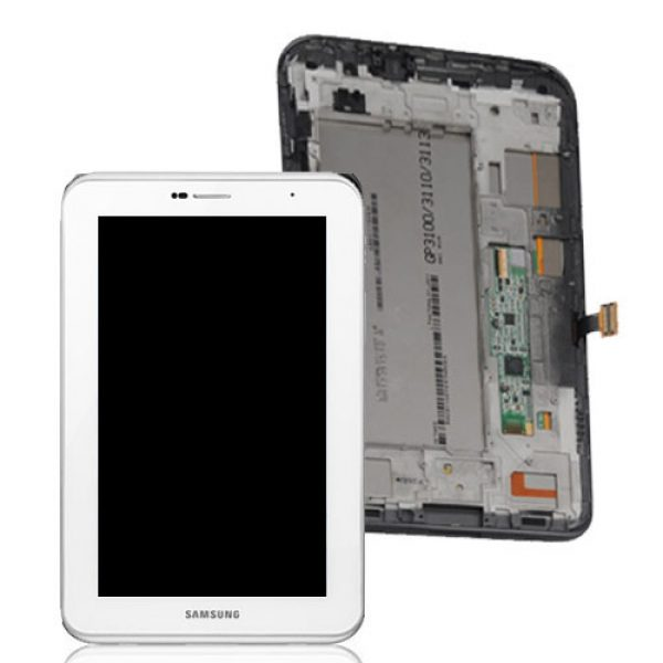 Genuine Samsung Galaxy Tab2 7.0 P3110 Lcd Screen with Digitizer White