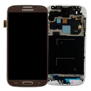 Genuine Samsung Galaxy S4 LTE i9505 SuperAmoled Lcd Screen Digitizer Dark Brown