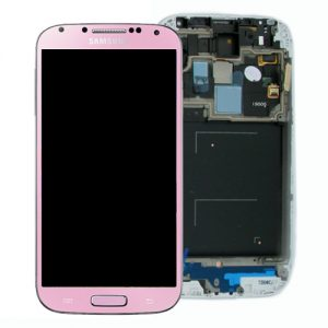 Genuine Samsung Galaxy S4 LTE i9505 SuperAmoled Lcd Screen Digitizer Pink