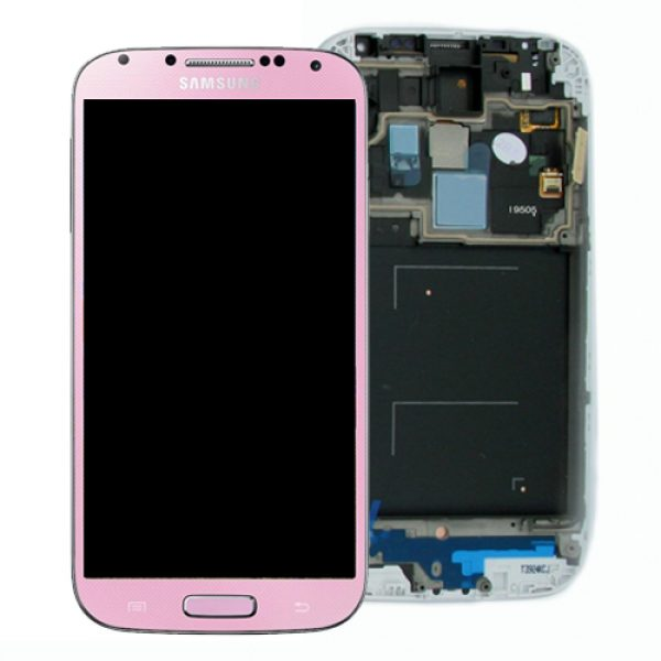 Genuine Samsung Galaxy S4 LTE i9505 SuperAmoled Lcd Screen Digitizer Pink