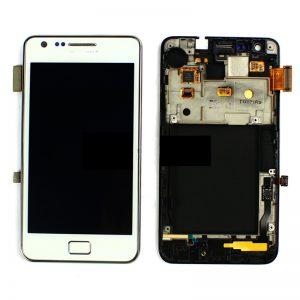 Genuine Samsung Galaxy S2 GT-i9100 SuperAmoled Lcd Screen Digitizer White