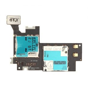 Genuine Samsung Galaxy Note2 N7100 Sim Reader Memory Card Flex