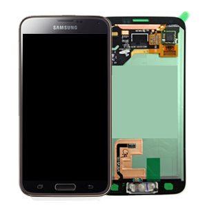 Genuine Samsung Galaxy S5 G901F G900F G900 SuperAmoled Lcd Screen Digitizer Gold