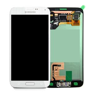 Genuine Samsung Galaxy S5 G901F G900F G900 SuperAmoled Lcd Screen Digitizer White