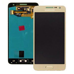 Samsung Galaxy A3 SM-A300 Lcd Screen Digitizer Gold Genuine