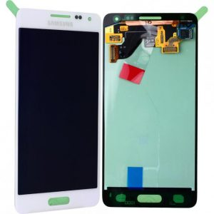 Genuine Samsung Galaxy Alpha G850F SuperAmoled Lcd Screen Digitizer White